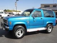 This Ford BRONCO is the Eddie Bauer Edition and has had