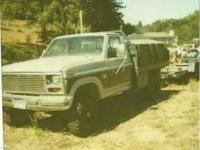 1986 FORD HYDROLIC DUMP TRUCK $6,000. OBO, or can be