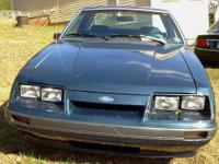 Navy 1986 Ford Mustang LX V6 with 62,104 original