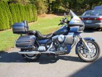 1986 Harley Davidson FXRD Grand Touring. This is a one