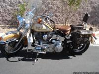 1986 Harley Davidson Heritage Softtail . 75,000 approx