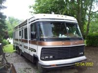 1986 Holiday Rambler, Imperial, 37K miles, 454 Chevy