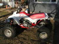 I am selling my 1986 Honda 250 R 4 Trax, lots of life