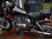 1986 Honda Rebel 450cc (just made 450 for 2 years) has