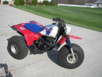 Very nice vintage trike ATV has very low milage used