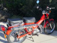 1986 Honda CT 110 190 original miles.Never seen dirt -