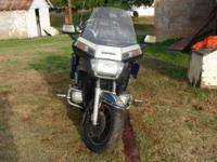 1986 Honda Goldwing Aspencade tour bike for sale. It