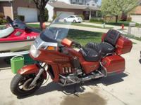 GL 1200 with new tires and a brand-new mustang seat.