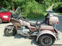 1986 Honda Goldwing Aspencade 1200cc with Voyager Trike