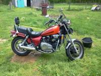 1986 Honda Magna. Nice clean bike engine runs good.