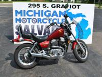 1986 Honda Shadow VT500C Beautiful Low Mileage