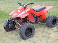 Nice 1986 Honda TRX250R for sale. I have owned it since