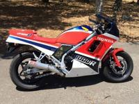 1986 Honda Vf1000R, very nice example of an '80's