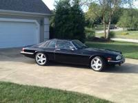 1986 Jaguar XJ-S V-12 Black on Black New Brakes and