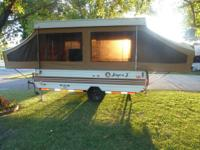 10' JAYCO POP-UP CAMPER,  A QUEEN AND FULLSIZE BEDS,