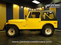 1986 Jeep CJ-7 for sale! This CJ was restored from the
