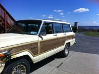 1987 Jeep Grand Wagoneer! Solid SUV! Por15 underneath