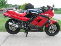 1986 KAWASAKI 1000R NINJA BIKE RUNS AND SOUNDS AWESOME,