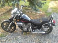 For Sale: 1986 Kawasaki Vulcan 750...31,XXX on it, Runs