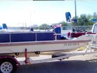 "Remodeled 1986 18' 8"" Lo Decker Deck Boat New"