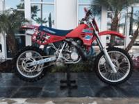 1986 Maico 500 in excellent condition. This bike was