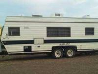 This is a nice mallard motor home, fiberglass skin and