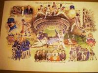 "1986 METS COMMEMORATIVE POSTER, ""A YEAR TO REMEMBER"""