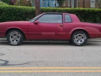 I have for sale a 1986 Monte Carlo SS with t-tops. It