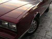 Up for sale is a 1986 Chevrolet Monte Carlo SS. 67,xxx