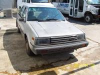 1986 Sentra, a good running car that gets 40+ mpg, but