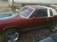 1986 Cutlas Supreme Classic, 2 Door, new white leather