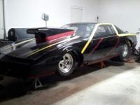 for sale 1986 pontiac firebird race car full tube