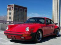 This 1986 Porsche 911 2dr 930 Turbo Coupe features a