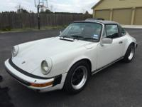 1986 PORSCHE 911 CARRERA TARGA!3.2 915 GEARBOXCAR IS IN
