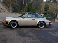 1986 Porsche 911 Carrera Targa Coupe. SUPER REAR COLOR: