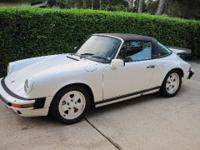 BEAUTIFUL ORIGINAL 1986 PORSCHE TARGA. IN EXCELLENT