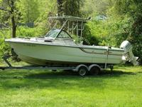 1986 Pro-Line Walkaround Hardtop Please call boat owner