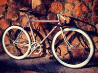 1986 raleigh technium  I have a 52 and 40 tooth