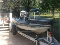 1986 ranger 350 v with gt 150 johnson great boat has