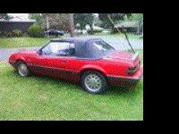 great shape 1986  Ford Mustang, v-8, 4 barrel, red