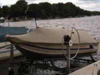 Hi up for sale is a 1986 Sea Nymph fishing boat. It has
