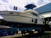 1986 SEA RAY 360 AFT CABIN, ENGINES: TWIN MERC. 5.7L,