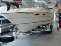 1986 Sea Ray 23 foot. Sport Fish Model. One owner & is