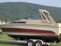 '86 Sea Ray Sundancer 270 with twin 170 Mercruiser