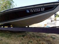 "1986 20ft Ski Centurion (""Barefoot"" edition) boat."