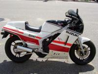 "The Suzuki RG500 ""Gamma"" was a motorcycle built by"