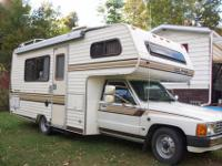 1986 Toyota Dolphin RV. Ready to go. Self consisted of.
