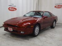 Nicely maintained Toyota Supra Reasonable miles and a