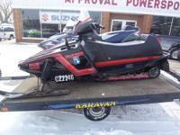 1986 Used Yamaha Phazer Snowmobile - Only $999.00!