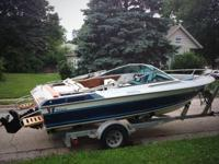 1986 Wellcraft Elite 180 & Trailer 18 Foot